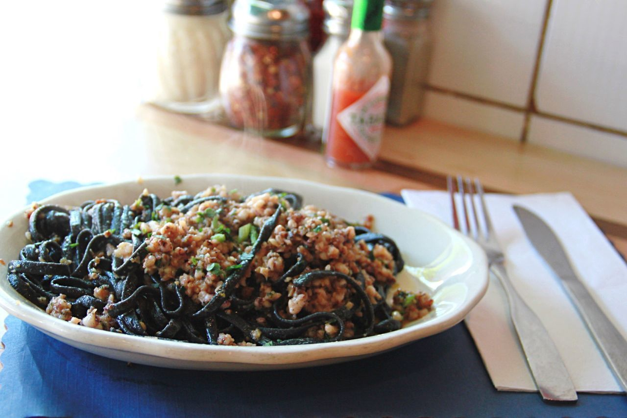 Squid Ink Pasta Squid Ink Pasta thedailycatch