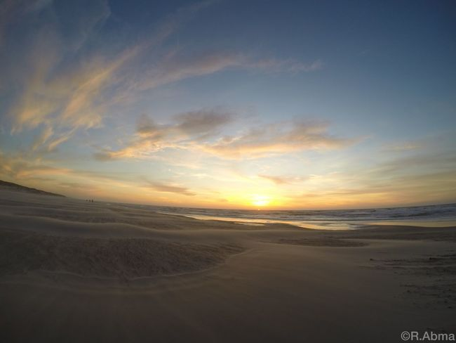 Texel, Netherlands Sunset Sun Sunshine Beach Sun_collection Sea Clouds And Sky Sunset_collection Clouds Sky