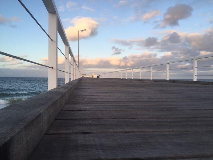 Adelaide, South Australia Australia Beach Grange Jetty Sunset