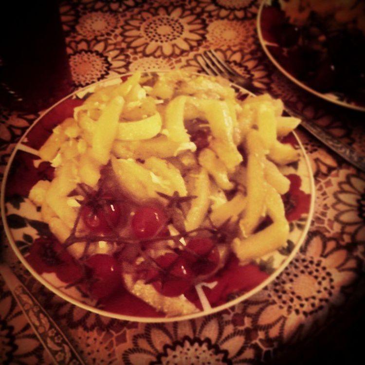 Potatoes Food Tomato Еда картошка обед помидорки_чери помидоры объедение :) лето ,не очень полезный обед