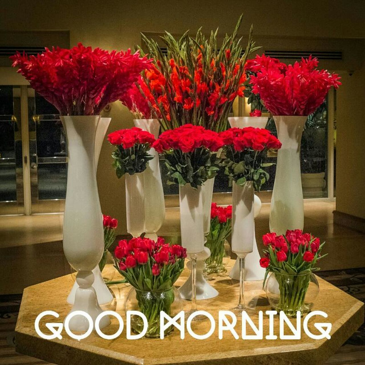 flower, red, vase, table, indoors, no people, bouquet, freshness, fragility, nature, flower head, close-up, day