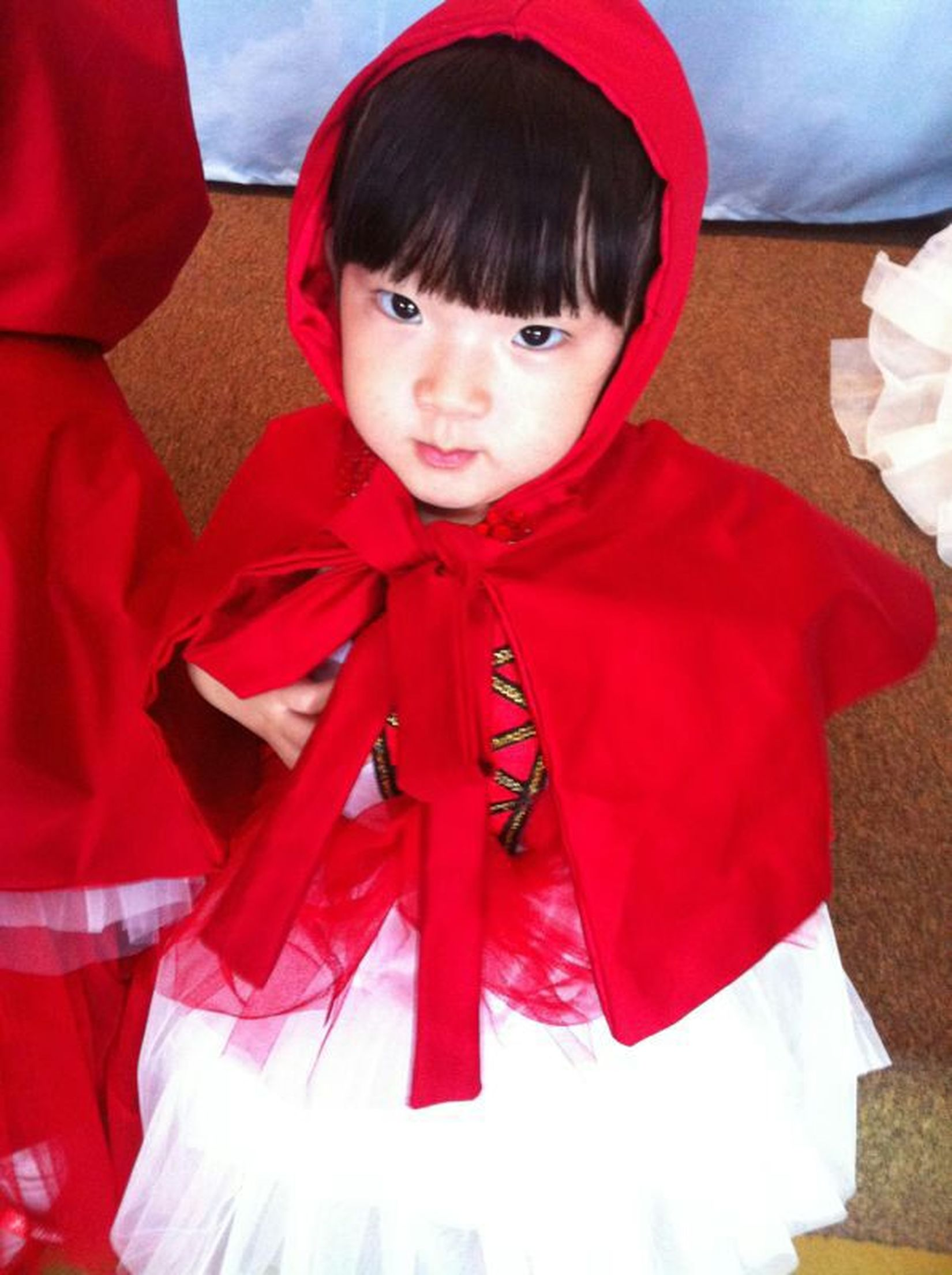 Party Kids Costume Little Red Ridding Hood