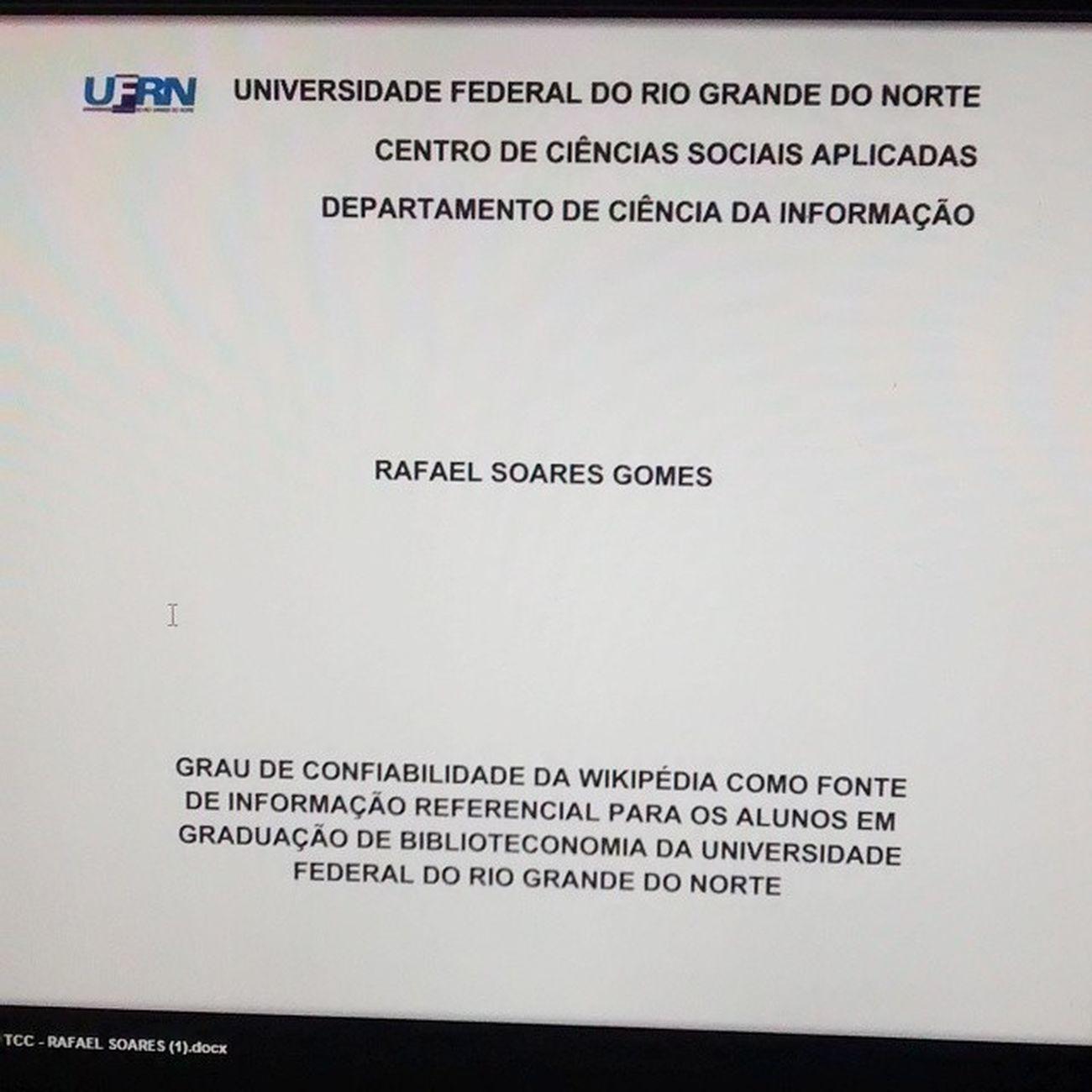 """Simbora"" se formar glr. TCC Ufrn Preprojeto"