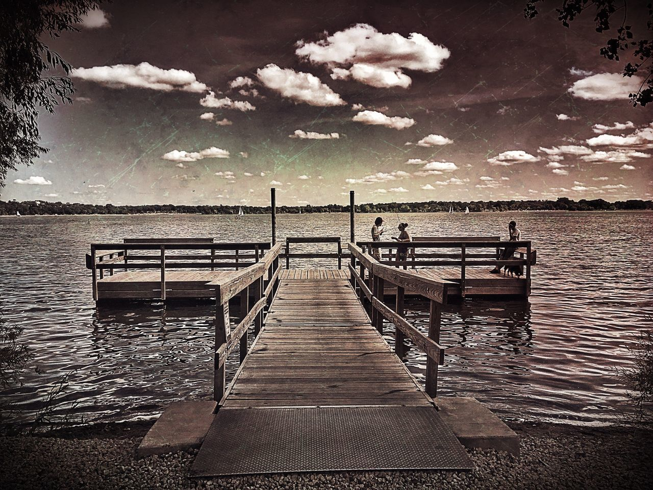 Fishing. Outdoors Fishing Fisherman Pier Fishing Pier Summer Summertime Summer Views Lake Lake View Lakeshore Lakeside Lakes  Lakeview Lake Life Minnesota Minneapolis Family Outdoor Activity Outdoor Activities Relaxing Fun Togetherness Family Time Family Activity