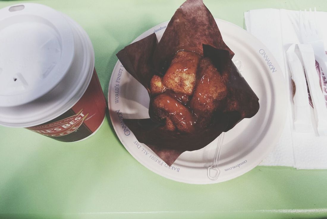 Mocca Cinnabon At The Mall ☕?