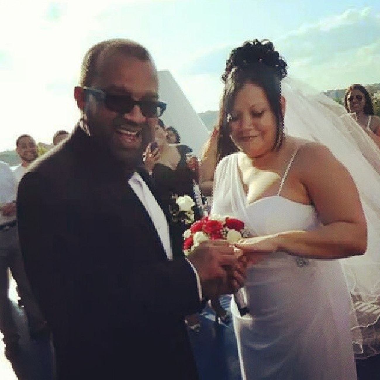 Congratulations Mr and Mrs Oswald Ramsammy!!! Newlyweds Justgotmarried Finallyhitched May17th2014 celebratinglife celebratinglove familyfirst yearsoflove yearsoffriendship theperfectunion godsrichestblessings MayNoManPutAsunder WhatGodHasBroughtTogether welcometothefamily weloveyou