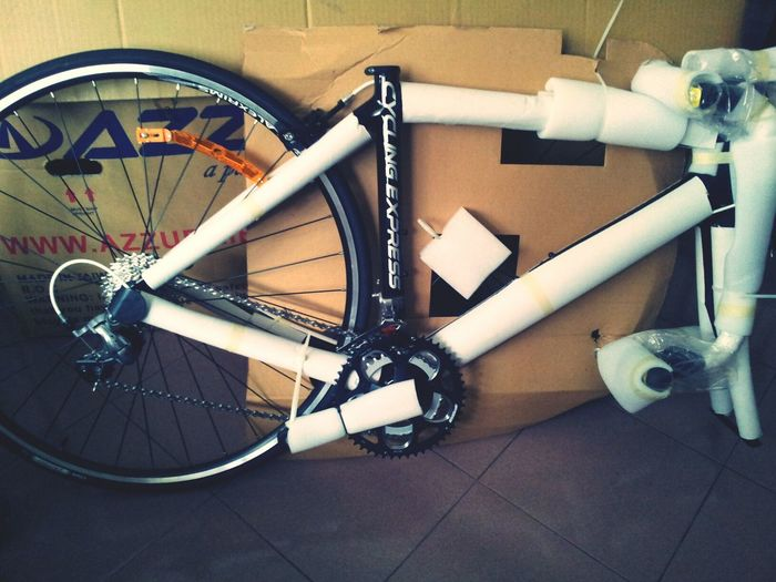 My dearest baby..I promise will take good care on you.....I am so excited!!! ahhh!!! P.S. Mr. Pedal faster reach! Bike Love Happy Very Happy! (: