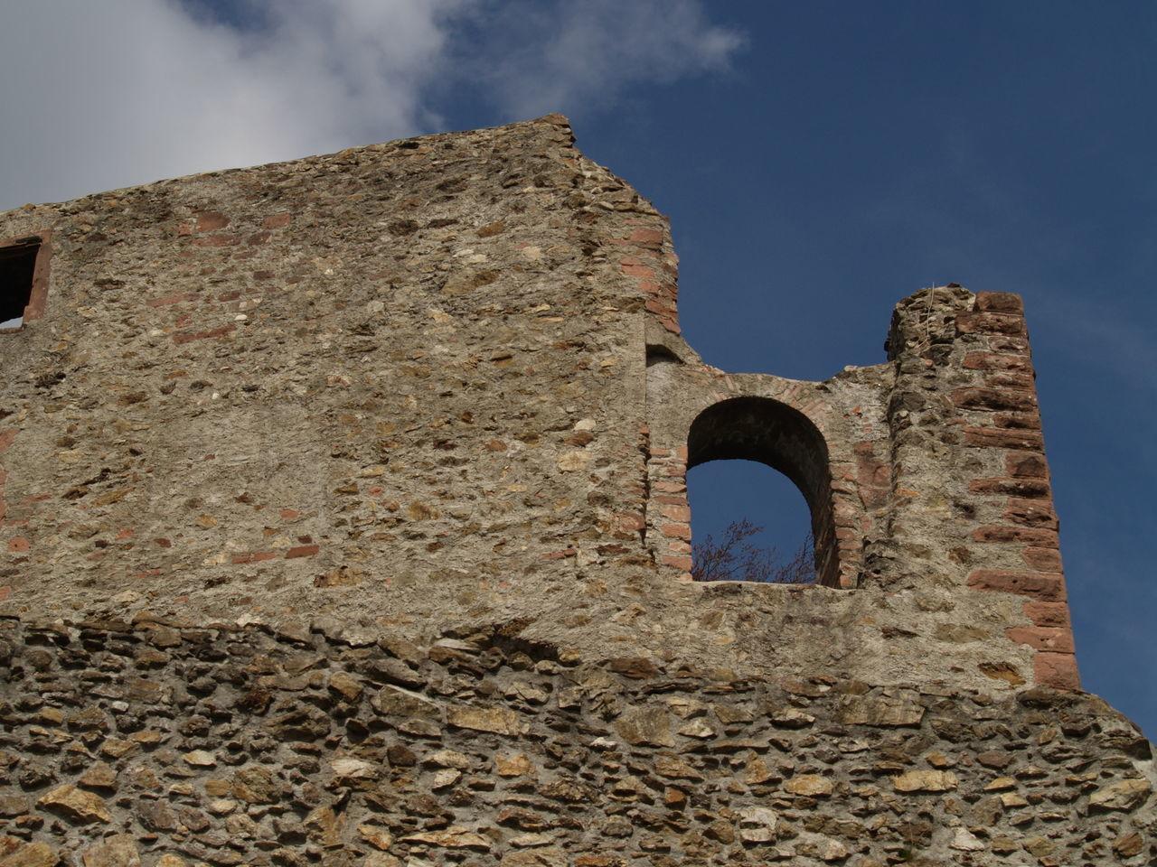 Castle Heaven Kastelburg Ruine Schwarzwald Sky Waldkirch Wall Castle Ruin