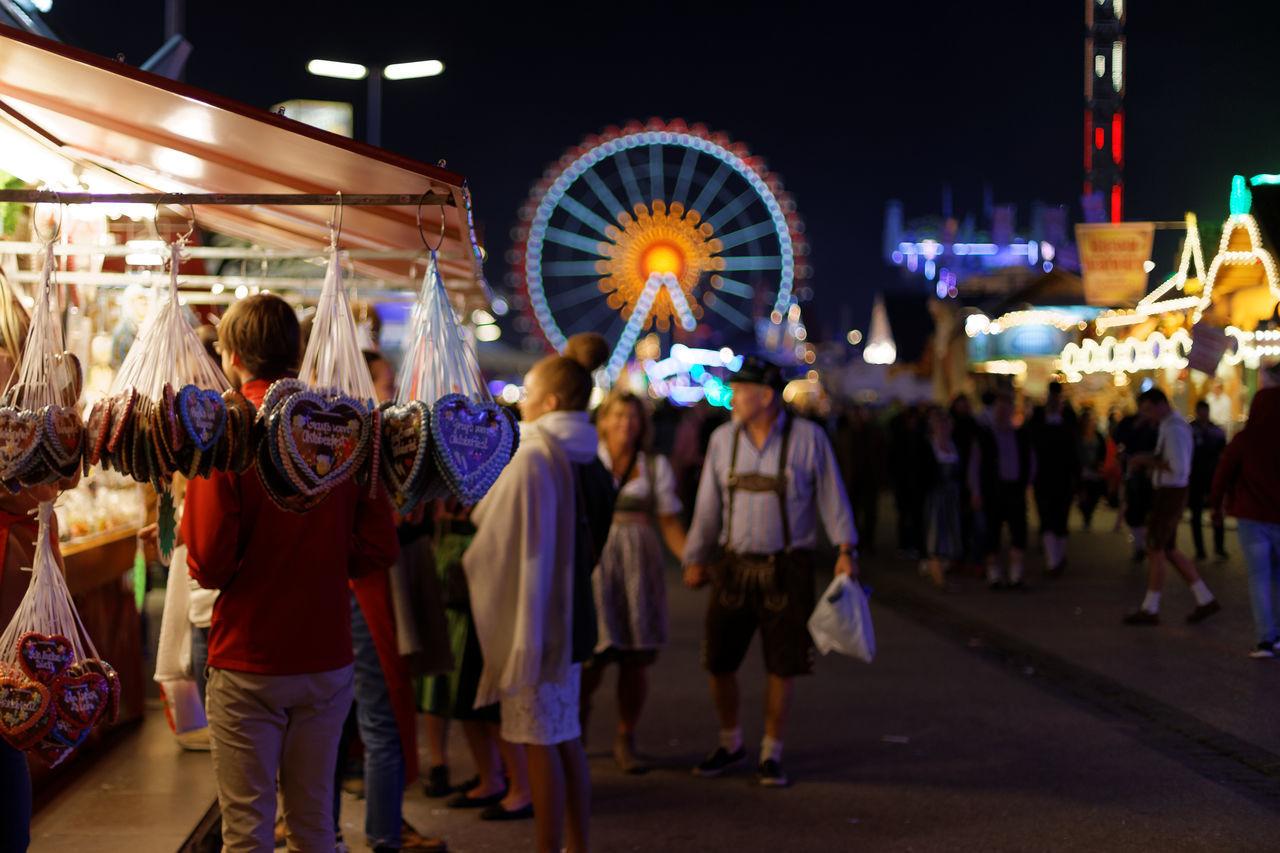 Beautiful stock photos of oktoberfest,  Amusement Park,  Costume,  Crowd,  Entertainment