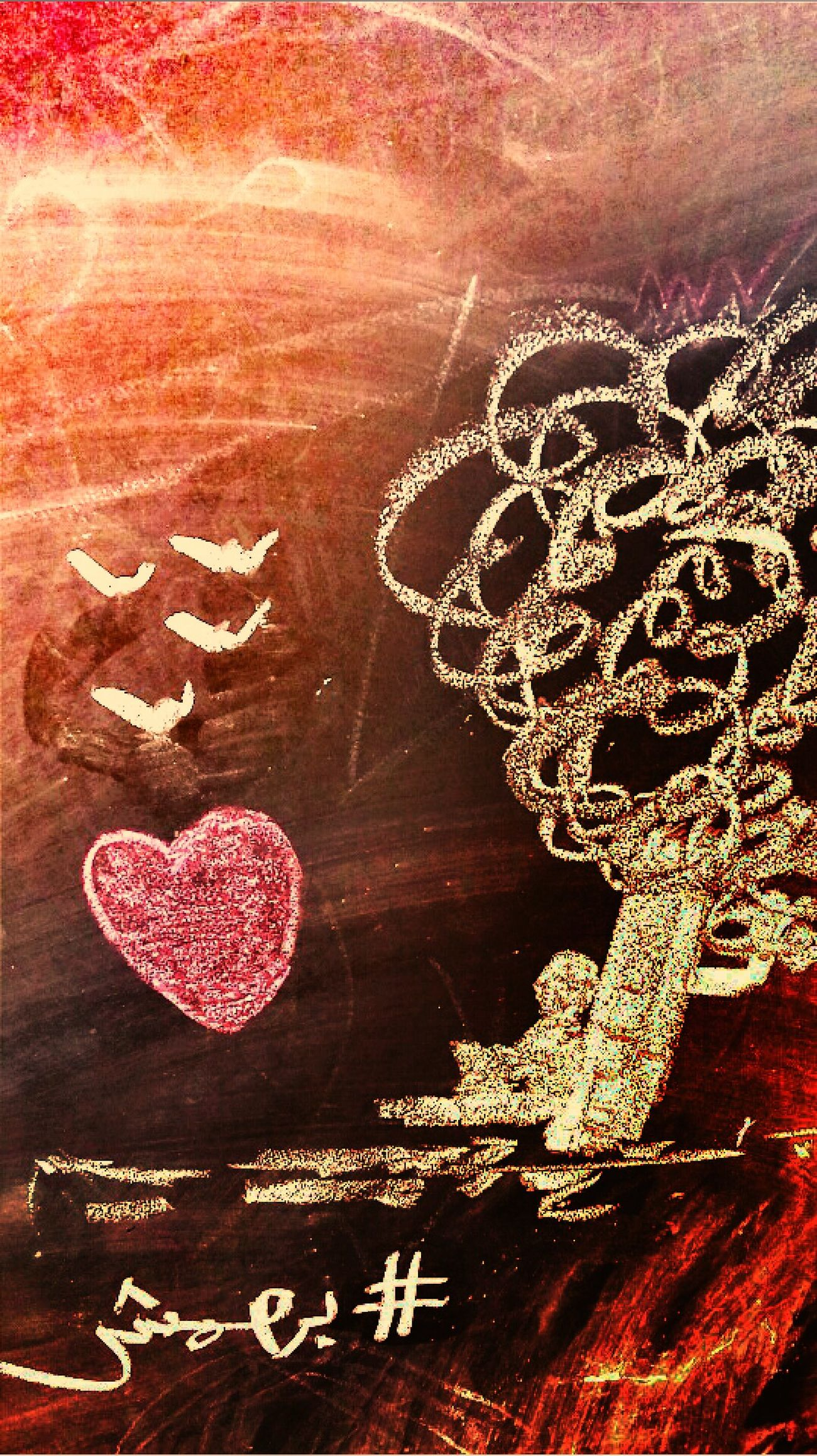 Heart Shape Love No People Close-up Backgrounds Day Outdoors