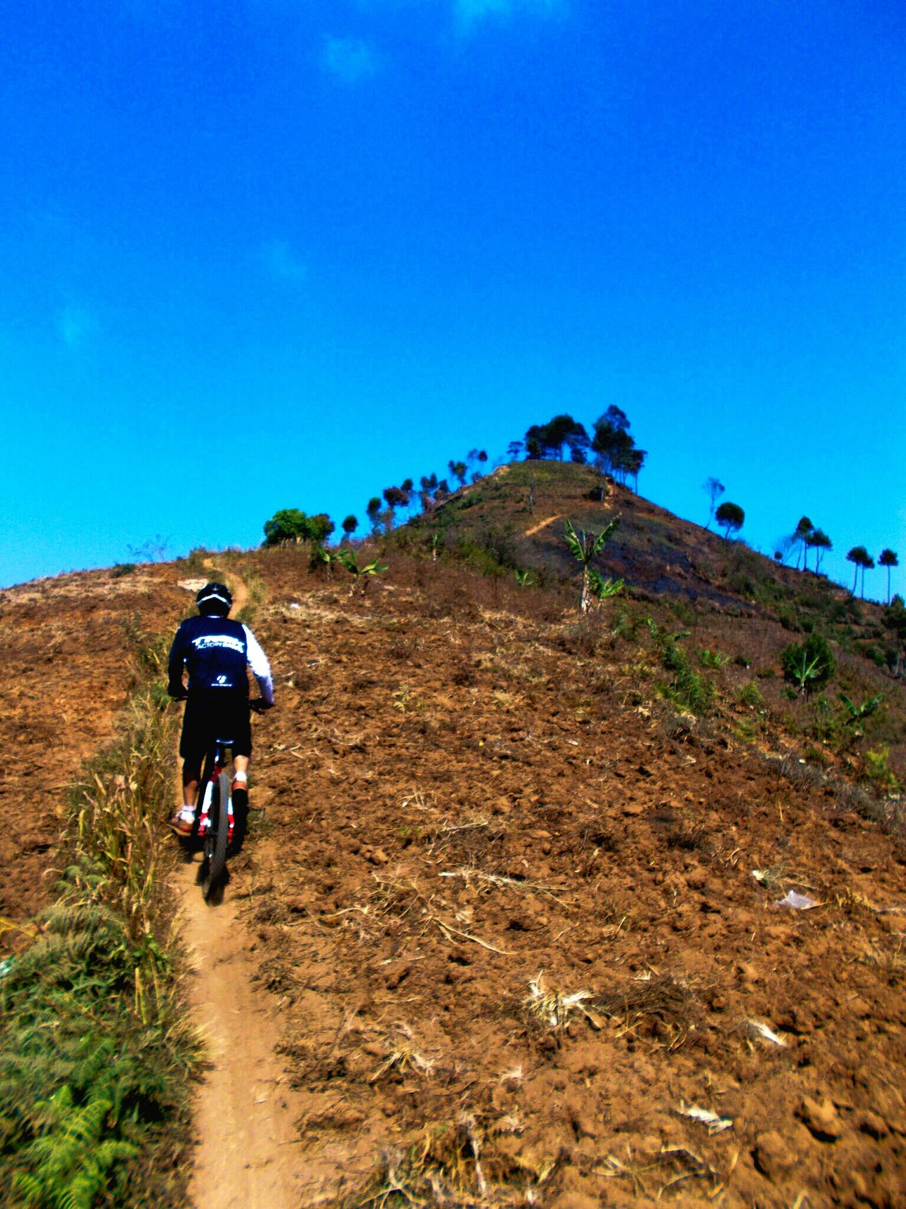 Uphill.. Hello World