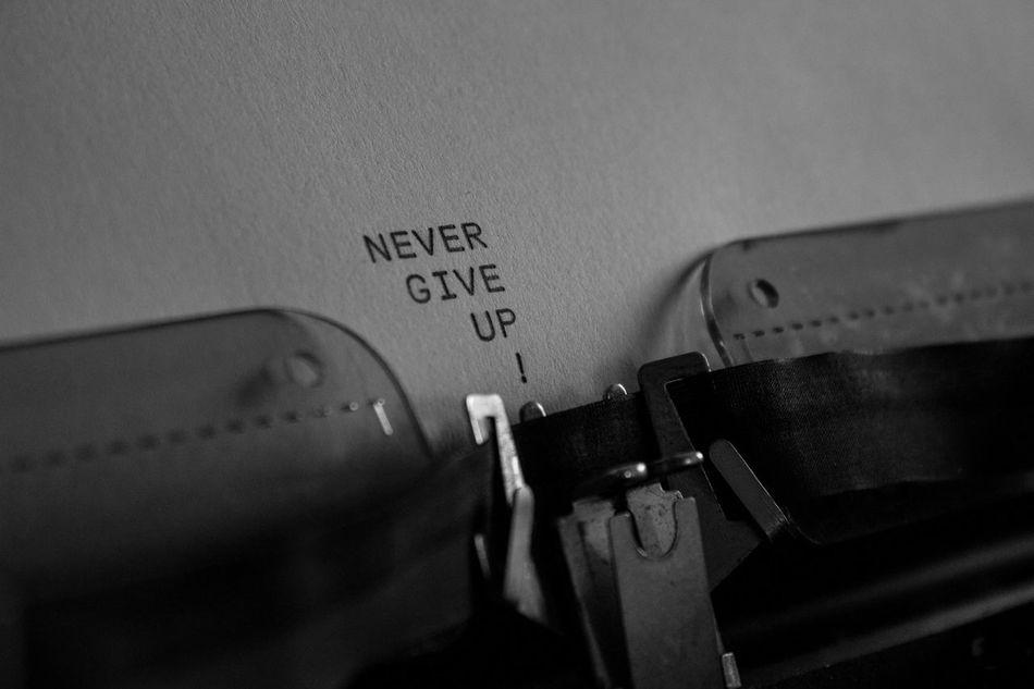 Close-up Communication Computer Key Day Indoors  Nevergiveup NeverGiveUpOk Nevergiveuponurgoals NeverGiveUpOnYourDreams Nevergiveuponyourself Nevergiveup☺ NeverGiveUp💪👣 No People Old-fashioned Technology Text