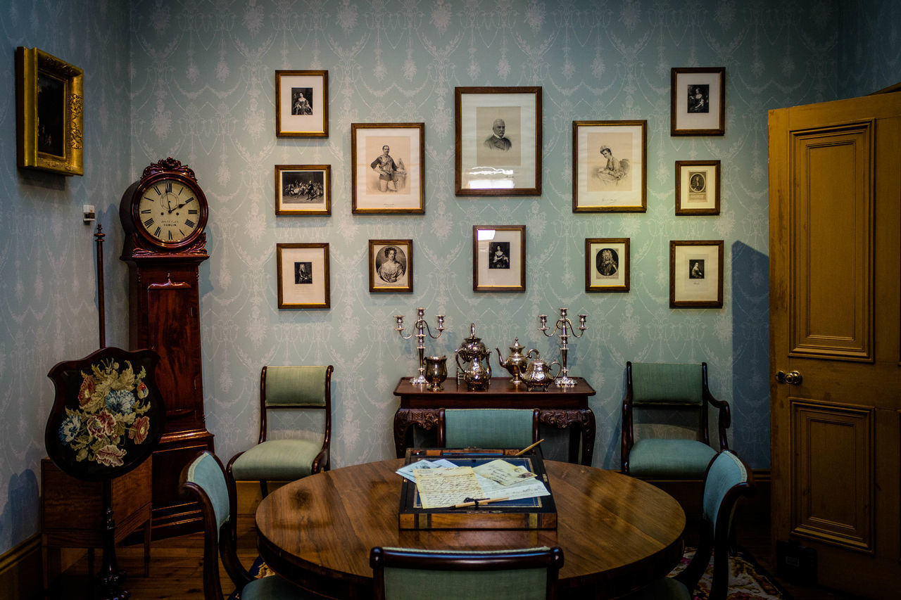 Clock Furniture Home Interior Indoors  Irleand Kilkenny Kilkenny Castle Luxury Old Old-fashioned Room Writing The Secret Spaces