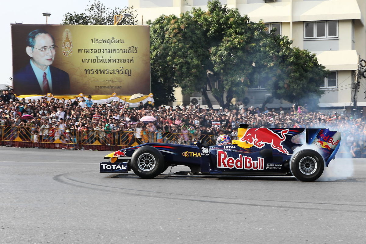 F1 Formula 1 Formula One Racing Formula Car City Thailand RedBull
