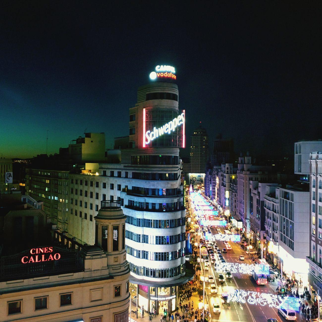 Madrid por la noche Nexus6 Madrid SPAIN