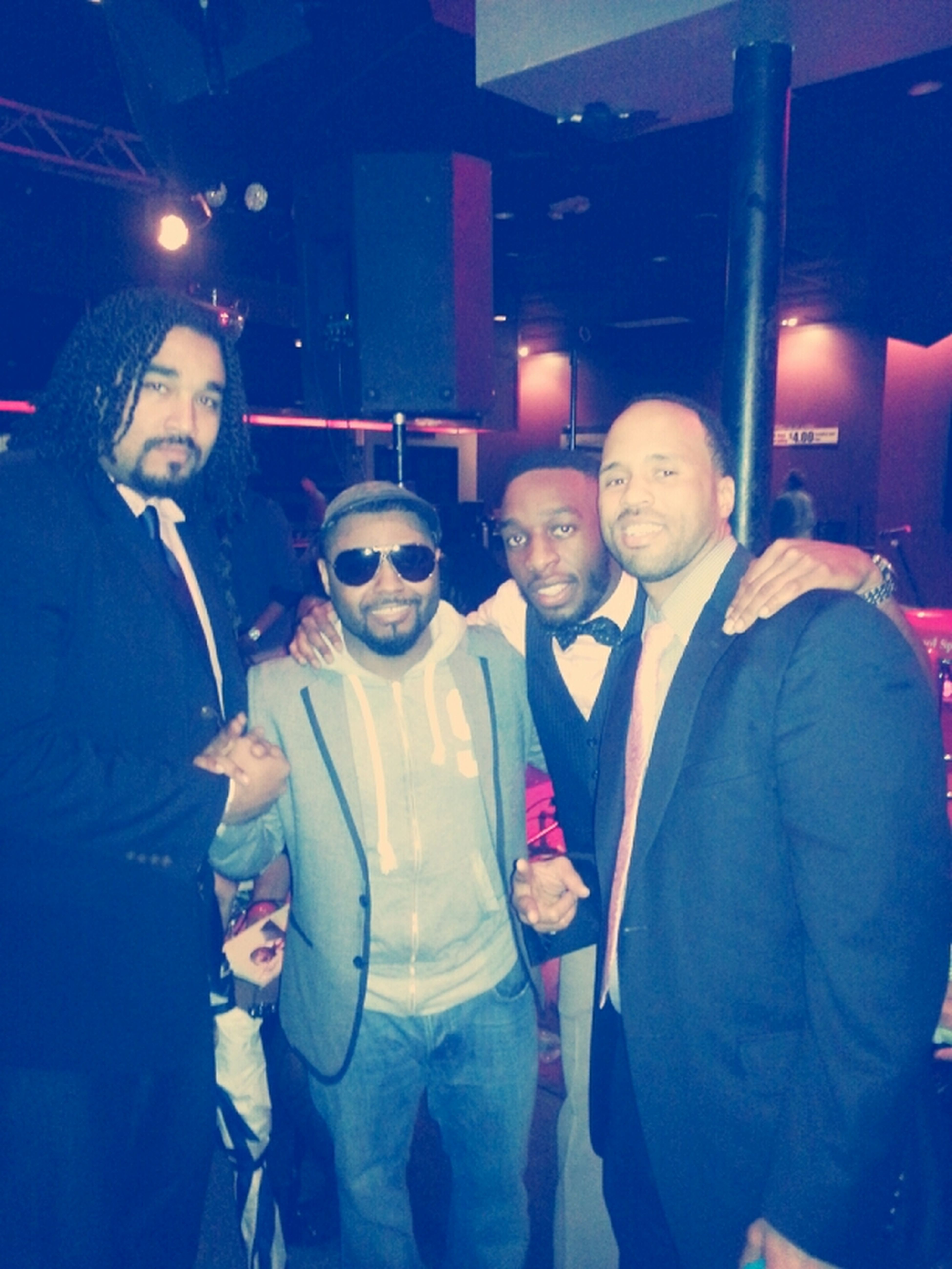 me, Musiq Soulchild, just greg and seff after the show