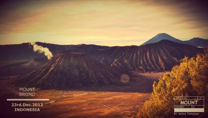 Nature at Bromo by Janice Tenujaya