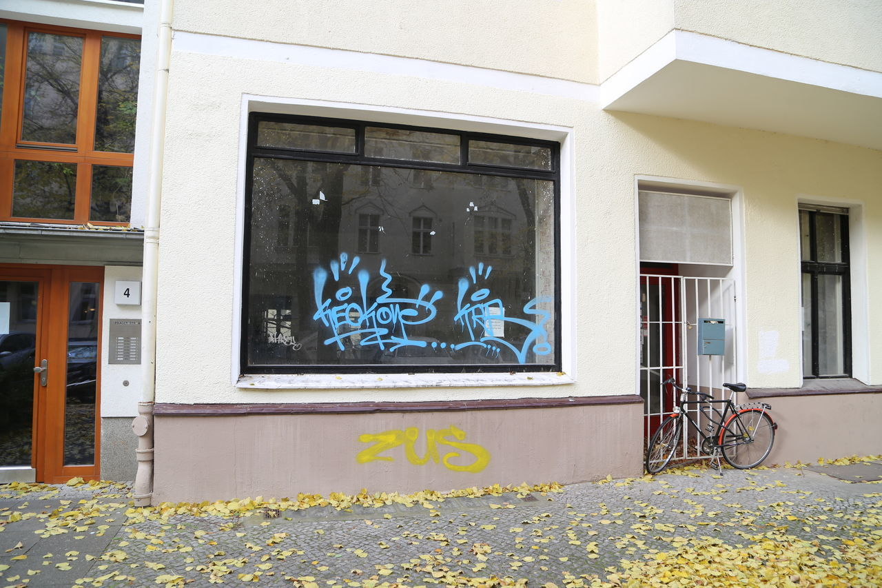 Architecture Bike Building Exterior Built Structure Day Grafitti House No People Outdoors Window