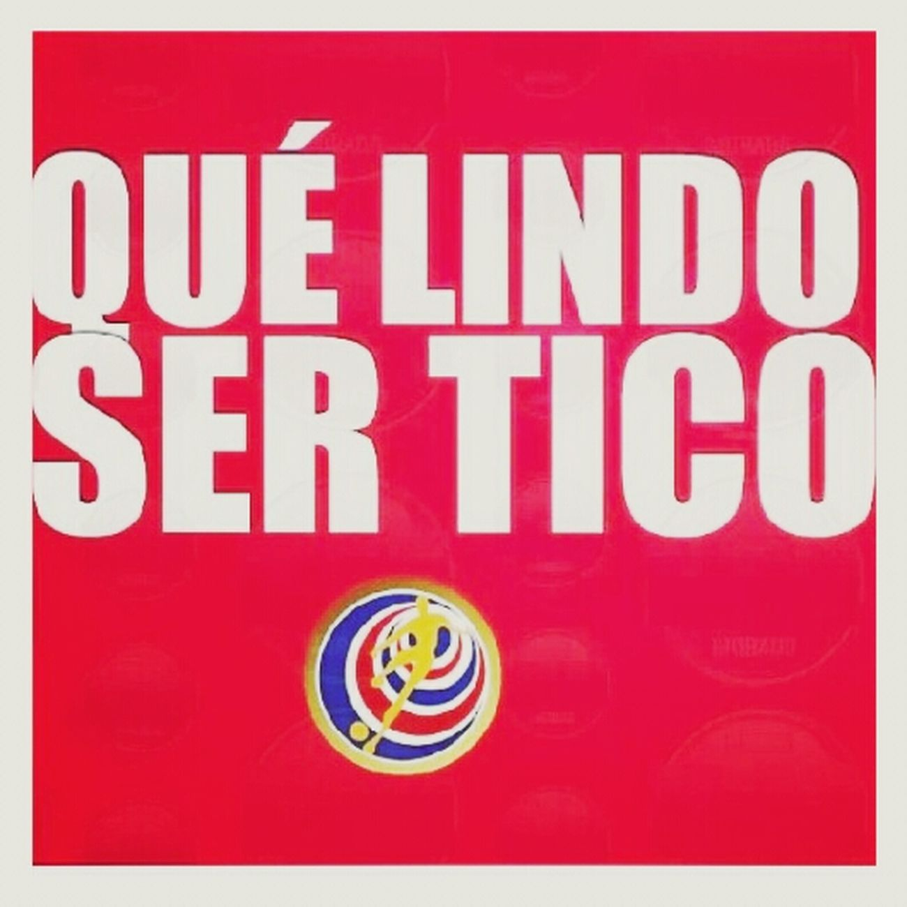 Que lindo ser tico Costarica Sele Ticos Brazil2014