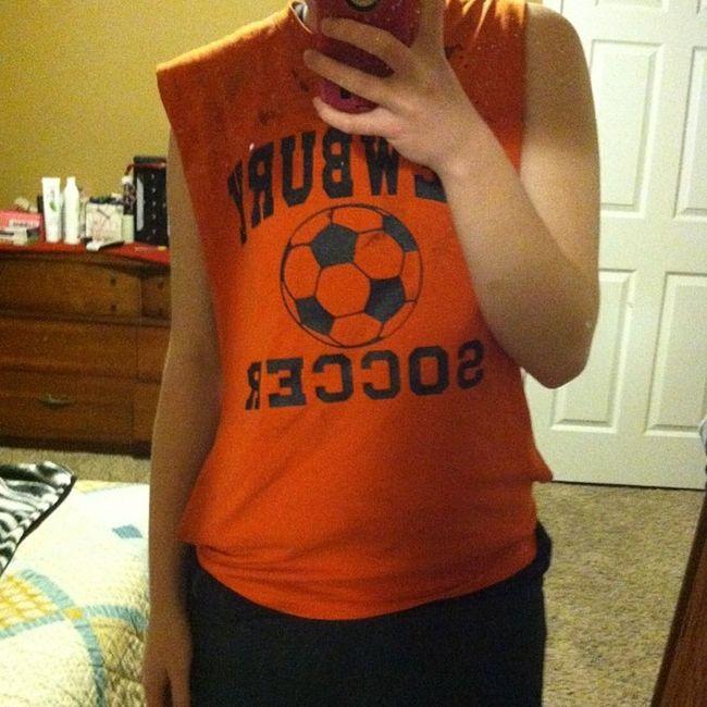 Ootd Januaryphotochallenge Cuttoff Soccer sweatpants