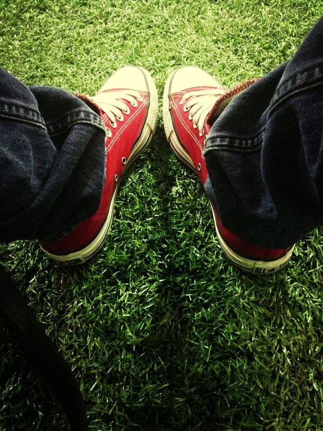 Enjoying Life Dress To Impress #KicksOfTheDay Kickin It In The Converse