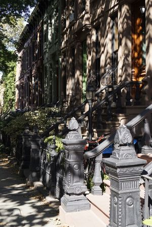 Building Exterior Architecture Built Structure Outdoors Tourism Day No People City Tree Cultures Brownstone Tree Architecture Creativity Streetphotography New York Brooklyn The Week On EyeEm