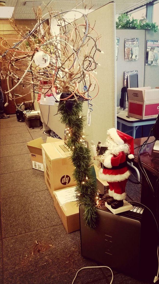 Installing Christmas