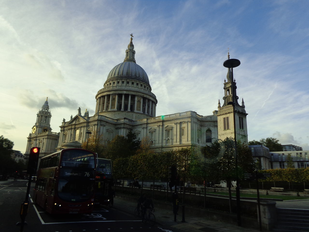 Architecture Dome Built Structure City Building Exterior Religion Place Of Worship Government Sky Cloud - Sky Outdoors No People Day No Filter EyeEmNewHere No Filter, No Edit, Just Photography No Filters Or Effects Dynamic London London Bus St Paul's Cathedral Streets Of London Dynamic Sky Uk Greatbritain