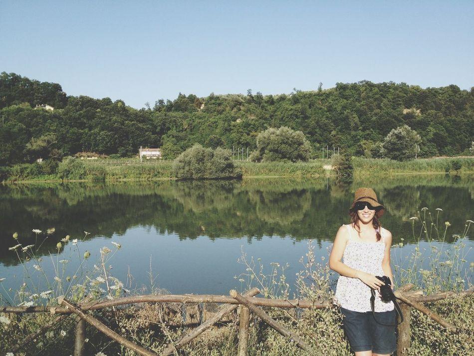 Enjoying Tevere Farfa Park! What a great sunday!