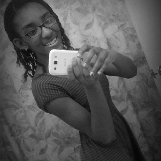 Selfie Ootd Fancyfriday Blackandwhite cutedresscurlyhairlike