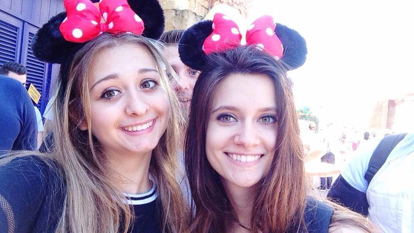 Friends Disney Disneyland Paris Disneyland Summer ☀ Summerbreakparty Photography Moment Summer2016 Summertime Disneymoments Good Times Moments Minniemouse Minnie Mouse Minnie 