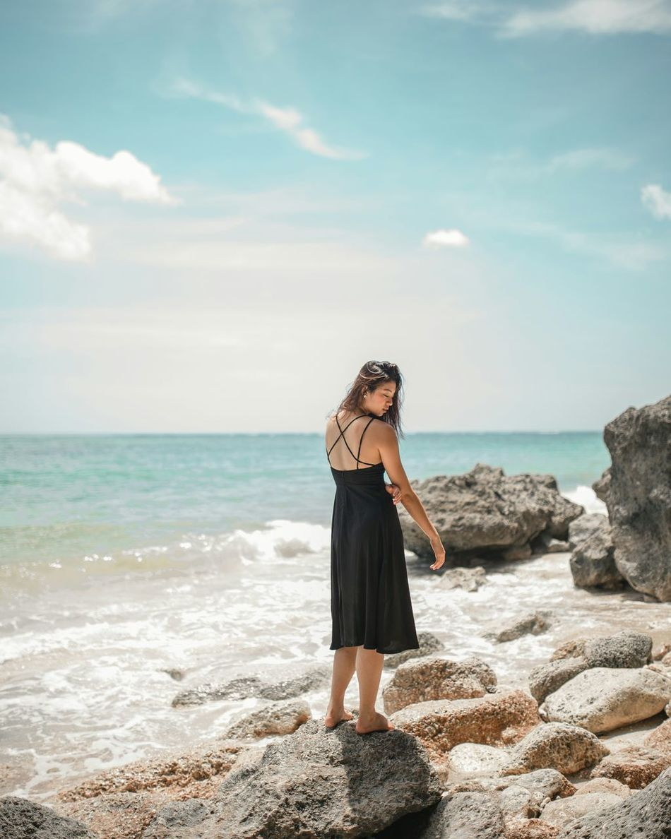 who is spared love is spared grief Beach Sea One Person Only Women Horizon Over Water Skirt Vacations Outdoors Summer Sky Sand One Woman Only Long Goodbye The Secret Spaces Individuality Dreamlike Nature Water Beach Photography Sea And Sky Sea_collection TCPM