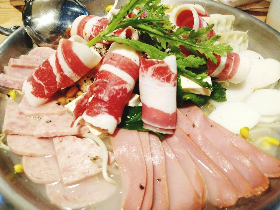 Korean Food Forces Stew Budae Jjigae