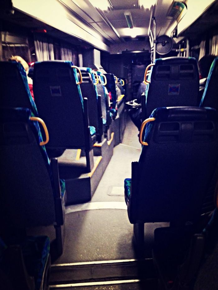 Done for the night Catching A Bus , thanx Stockholm.
