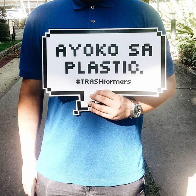 Ayoko sa plastic at mapapel! TRASHformers StrawWarsPH