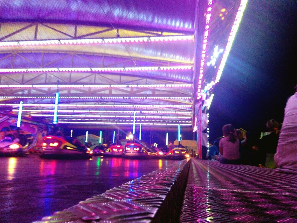 Dodgems Dodgem Dodgem Cars Low Angle View Culture Play Budapest, Hungary Budapest Octoberfest Carneval Lens Flare Famous Place Multi Colored Diminishing Perspective Nightlife Electric Light City Life Blue The Way Forward Purple City Night Illuminated Sky Millennial Pink