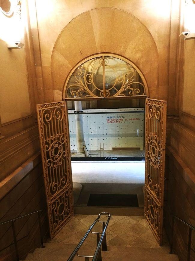 Door Arch History Entryway Catalunya Palau Robert Barcelona, Spain Architectural Feature Historic
