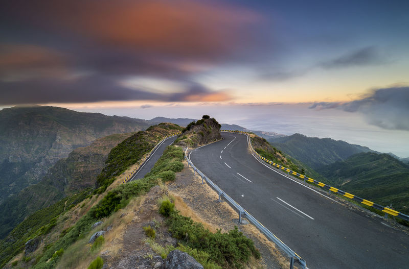 Above the clouds Cloudscape Madeira Madeira Island Madeira Islands, Portugal Above The Clouds Encumeada Highlands Mountain Paul Da Serra Turn