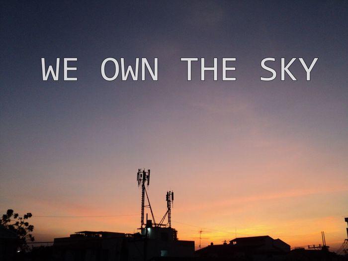 Sky We Own The Sky Fly