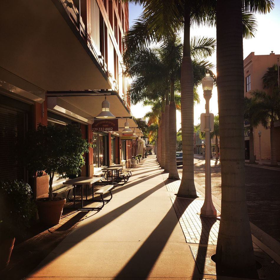 Morning walk downtown Shadow Sunlight No People Day Outdoors