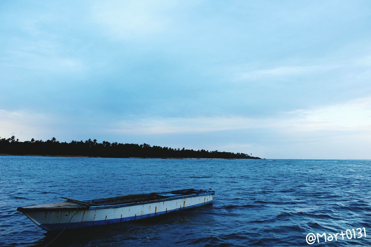 Blue Landscape Sky Horizon Over Water Beauty In Nature No People Social Issues Nature Tree Tranquility Outdoors Scenics Water Sea Nautical Vessel Astrology Sign Day Boats And Water Boat Seascape Seaside Sea And Sky Seascape Photography Vacation Destination Jomalig Island First Eyeem Photo