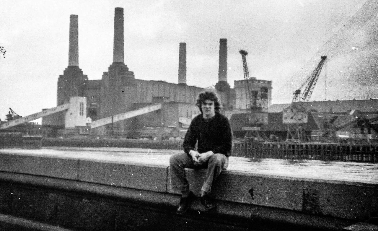 Steven, Battersea Power Station, London, 1978 Architecture Battersea Power Station Battersea Black And White Monochrome 1978