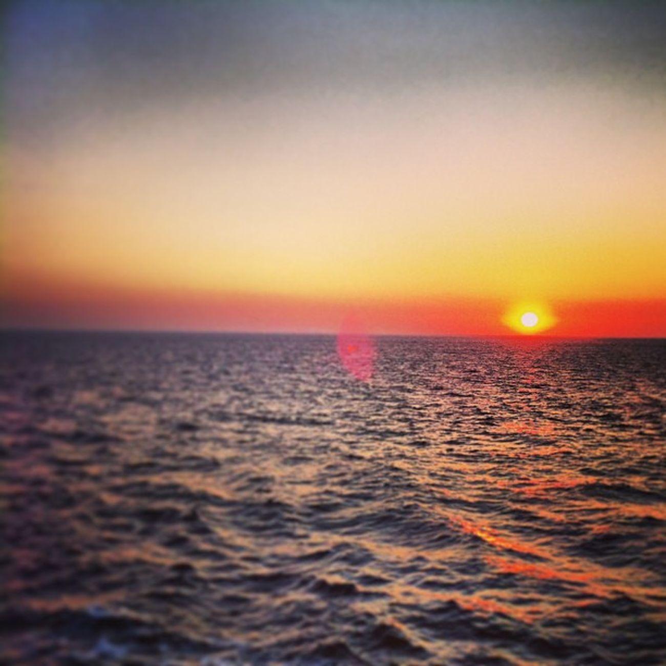 Sunset near psara Psara Chios Sunset Ocean Sun Greece Greekislands Islands