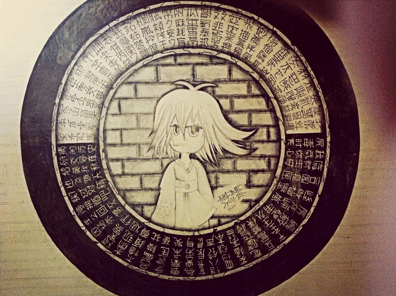 Потрясающий рисунок на стене карандашом 2x2 метра нарисованный мной )
