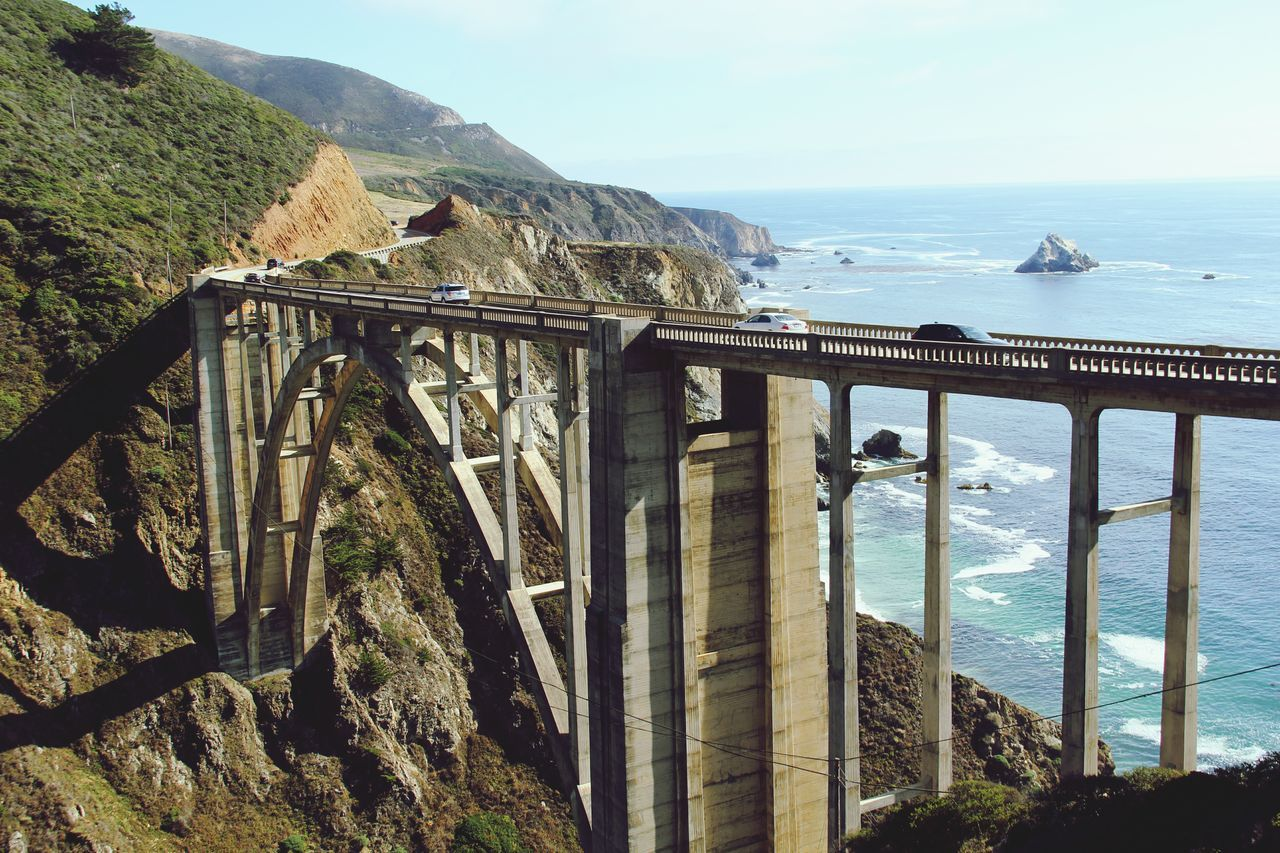 Beautiful stock photos of bridge, Arch, Architecture, Big Sur, Bixby Bridge
