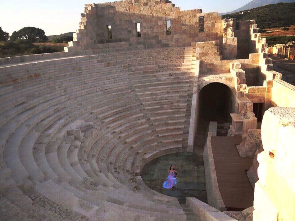 Architecture Built Structure History Stone Material Bestoftheday Woman Amphytheater Steps Turkey Patara Eye4photography  Building Exterior EyeEm Best Shots The Past Beautiful Turkeyphotooftheday Lykia Picoftheday Photooftheday