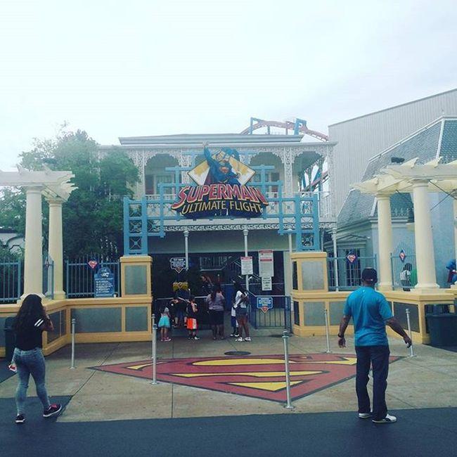 Six Flags (Super Man Ride) Superman Sixflags Greatamerica Gurnee Rollercoaster Amazing Fun