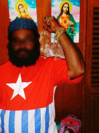 One Person Human Hand Human Body Part Patriotism Papua Free Of Indonesia Colonial West Papua Want To Free Of Indonesia Colonial. West Papua Politic Of Freedom West Papua People West Papua Flag West Papua Men West Papua Culture Countrylife Flag Patriotism