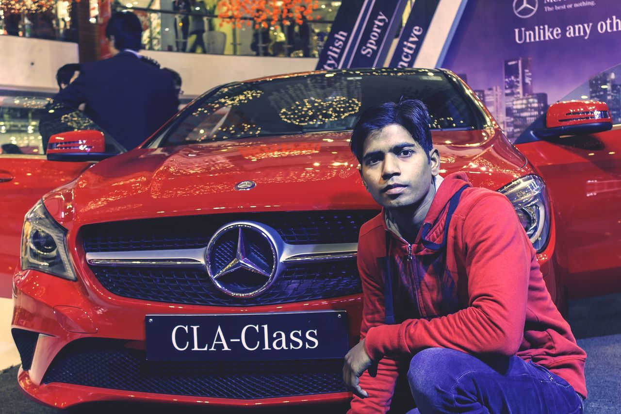 CLA 200CDI Mercedes-Benz Mercedes Car Handsome Red This Is Me Chek This Out  EyeEm Best Shots First Eyeem Photo Open Edit