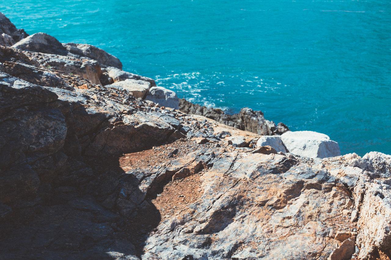 Blue Italy Landscape Nature Ocean Outdoor Photography Outdoors Rocky Coastline VSCO